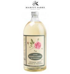 Savon liquide de Marseille, parfumé à la Rose (1L)