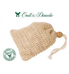 Sachet à savon en fibre végétale sisal - Croll & Denecke