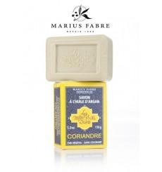 Savonnette à l'huile d'argan, parfumée à la Coriandre