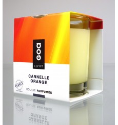 Bougie Esprit - Cannelle Orange