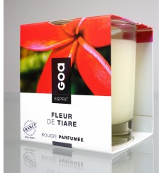 Bougie Esprit Goa - Fleur de Tiaré