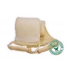 Gant de massage biface luffa/éponge