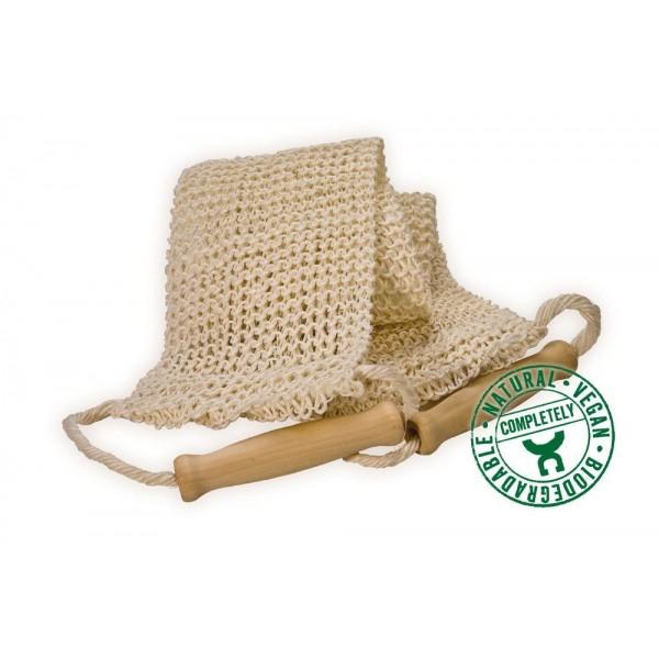 Lanière de massage Sisal tricoté
