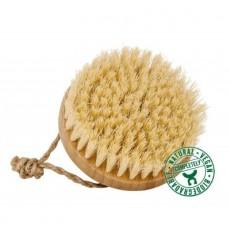 Brosse en bambou, soies de coco