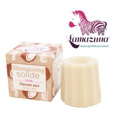 Shampooing solide cheveux secs - Vanille-Coco