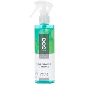 Spray Vaporisateur Goa Esprit - Patchouli Cédrat
