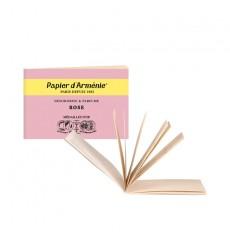 Carnet La Rose - Papier d'Arménie