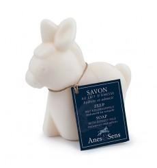 """Savon """"ânon"""" au lait d'ânesse, nature 150 g"""