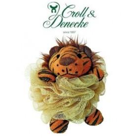 Éponge Fleur en tulle, Tigre