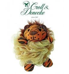 Eponge Fleur en tulle, Tigre