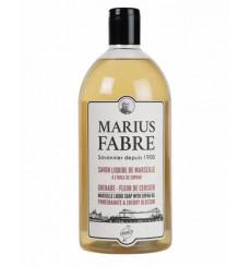 Savon liquide de Marseille Grenade et Fleur de Cerisier 1900 - Marius Fabre