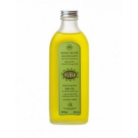 Huile sèche Olivia à l'huile d'olive et à l'huile d'onagre, certifiée BIO