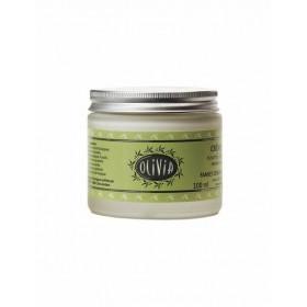 Crème hydratante Olivia à l'huile d'olive & beurre de karité, certifiée BIO