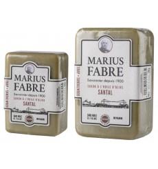 Savonnette à l'huile d'olive Santal - Marius Fabre