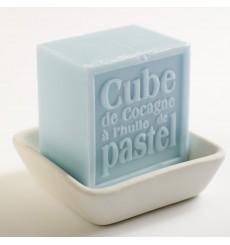 Cube de Cocagne Bleu Alazado - Graine de Pastel