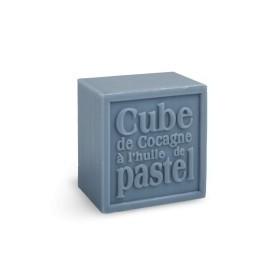 Cube de Cocagne à l'huile de Pastel, Bleu de reine