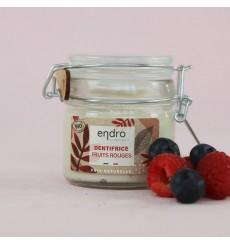 Dentifrice bio en pâte naturelle Fruits Rouges, sans huile essentielle - Endro cosmétiques