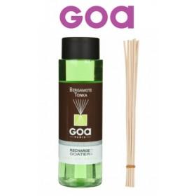 Recharge pour Goatier 250 ml - Bergamote Tonka