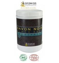Savon noir Eucalyptus, Biologique