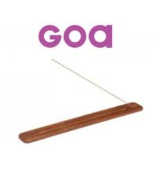 Porte Encens long en bois Goa